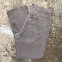 90's Levi's 519 Corduroy Pants  GREY W : 34