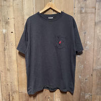 90's~ Disney Mickey Mouse Logo Embroidered Tee