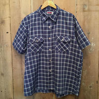 80's BIG MAC S/S Plaid Work Shirt