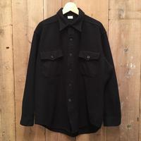 70's U.S.NAVY Wool Flannel Shirt