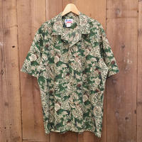 80's HAWAII Cotton/Poly Aloha Shirt