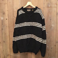 90's ROBERT STOCK Hand Knit Wool Sweater