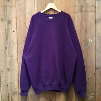 80's~ JERZEES Plain Sweatshirt PURPLE