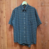 60's TOWNCRAFT Cotton B.D Shirt