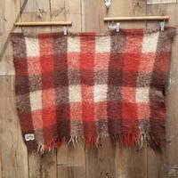 ~70's Glen Cree Mohair Blanket