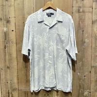 90's~  Polo Ralph Lauren Rayon Aloha Shirt L.BLUE