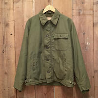 70's U.S.NAVY A-2 Deck Jacket