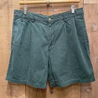 90's NAUTICA Chino Shorts GREEN W 36