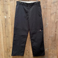 Dickies Double Knee Work Pants BLACK  W36