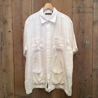 Cubavera Linen Guayabera Shirt