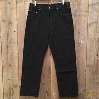 90's Levi's 505 Black Cotton Pants  W36