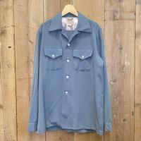 50's~ Marlboro Wool Gabardine Shirt