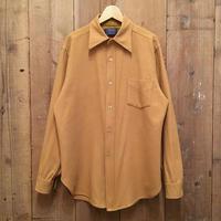 70's PENDLETON Wool Shirt CAMEL