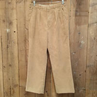 ~90's L.L.Bean Two Tuck Corduroy Slacks