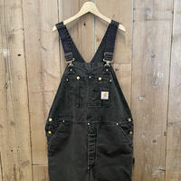80's Carhartt Padded Double Knee Overall  W:40
