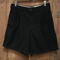 90's Chaps Ralph Lauren Two Tuck Cotton Shorts W : 32