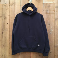 90's RUSSELL ATHLETIC Plain Hooded Sweatshirt