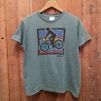~90's L.L.Bean Bicycle Tee