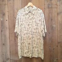 90's~ CAMPIA MODA Rayon Bamboo Shirt