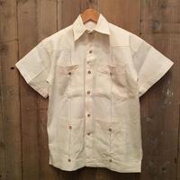 Unknown  guayabera Shirt OFF WHITE