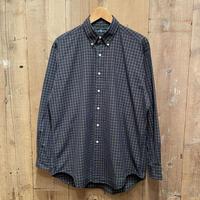 """90's Polo Ralph Lauren B.D Shirt """"BLAKE"""" NAVY×GREEN×YELLOW"""