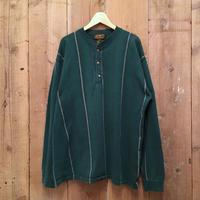 80's~ Eddie Bauer Henry Neck Shirt