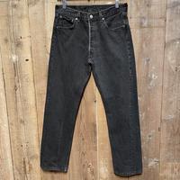 90's Levi's 501 Black Denim Pants  W 33 #4