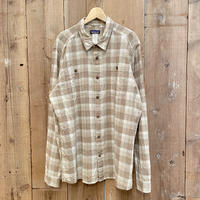 Patagonia Hemp × Cotton Shirt  L.BROWN