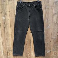 90's Levi's 505 Black Denim Pants  W 34 #1