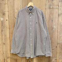 "90's~ Polo Ralph Lauren ""BLAIRE"" Cotton B.D Shirt"