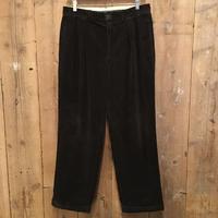 90's Polo Ralph Lauren Two Tuck Corduroy Pants  D.NAVY   W:34