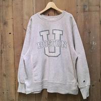 80's Champion Reverse Weave Sweatshirt BOSTON.U