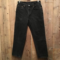 90's Levi's 550 Black Denim Pants  W : 34  #2