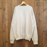 80's~ BVD Plain Sweatshirt ASH