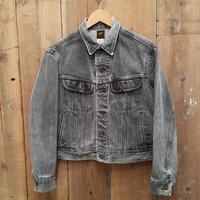 80's Lee 220 Black Denim Jacket