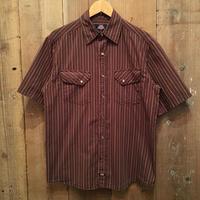 Dickies S/S Western Shirt BROWN  M