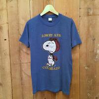 80's ARTEX Snoopy Lowry AFB Tee