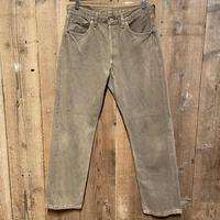 90's Levi's 501 Color Denim Pants  W 33 OLIVE