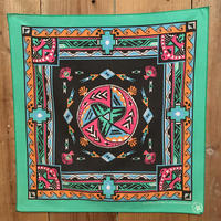 80's~ Native Printed Bandana #50