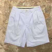 Polo Ralph Lauren Cotton Two Tuck Shorts L.BLUE W: 32