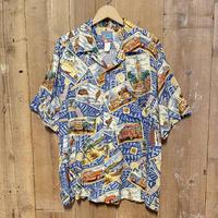 90's JOE KEALOHA'S Rayon Aloha Shirt