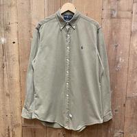 90's Polo Ralph Lauren Cotton Chino B.D Shirt
