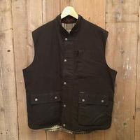 DRIZA BONE Waxed Cotton Vest