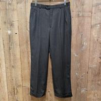 90's~ FR TRIPER&CO Tuck Wool Slacks