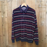 80's BROOKS BROTHERS Velour Polo Shirt