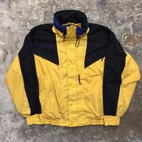 Columbia Nylon Jacket YELLOW × BLACK×BLUE