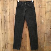 80's Levi's 501 Black Cotton Pants W 28