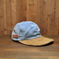 90's~ Columbia Cotton×Suede Cap