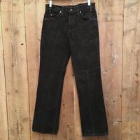 90's Levi's 517 Black Cotton Pants  W  33