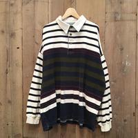 90's~ VAN HEUSEN L/S Polo Shirt